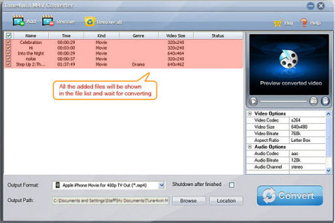 User Guide for removing DRM protection from iTunes M4V movies