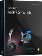 Tune4win M4P Converter - convert drm m4p to mp3, aac, wav format